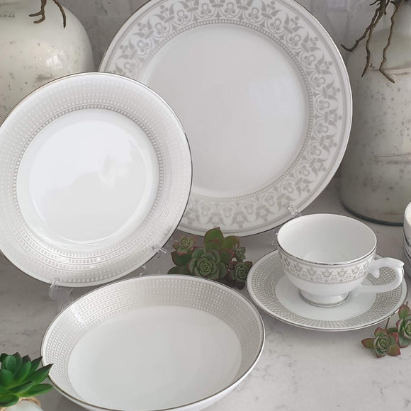 Dankotuwa Dilini Platinum 12pcs Dinner Set
