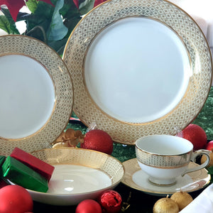 Dankotuwa Jewel Cream 20pcs Dinner Set