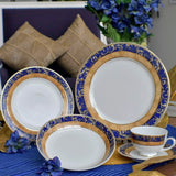 Dankotuwa Liyathambara Blue 20pcs Dinner Set