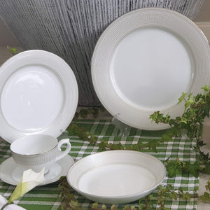 Dankotuwa Menuna Platinum 12pcs Dinner Set