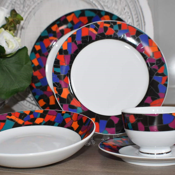 Dankotuwa Mosac 12pcs Dinner Set