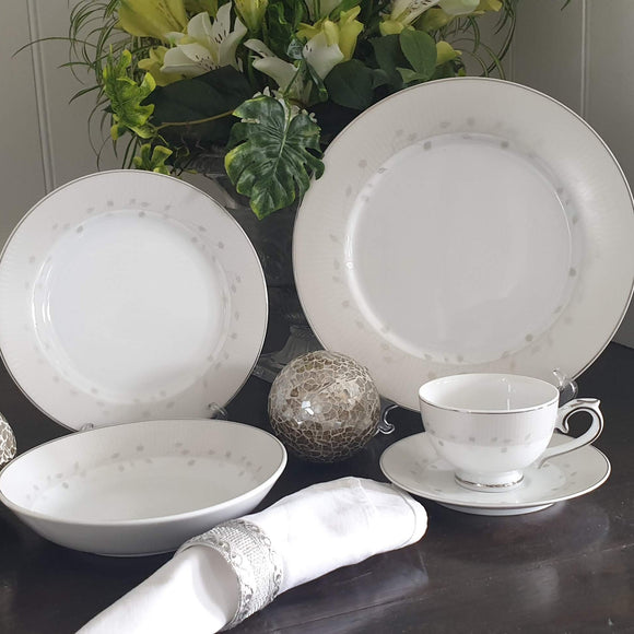 Dankotuwa New Haviland Platinum 12pcs Dinner Set