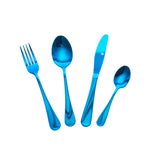 Royalclub Stainless Steel 24pcs Cutlery sets in 7 colours