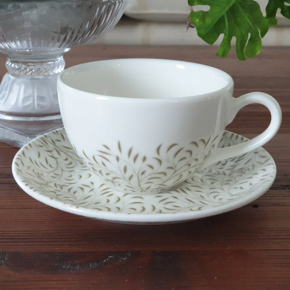 Dankotuwa Green Leaf 08 pcs Cup & Saucer set