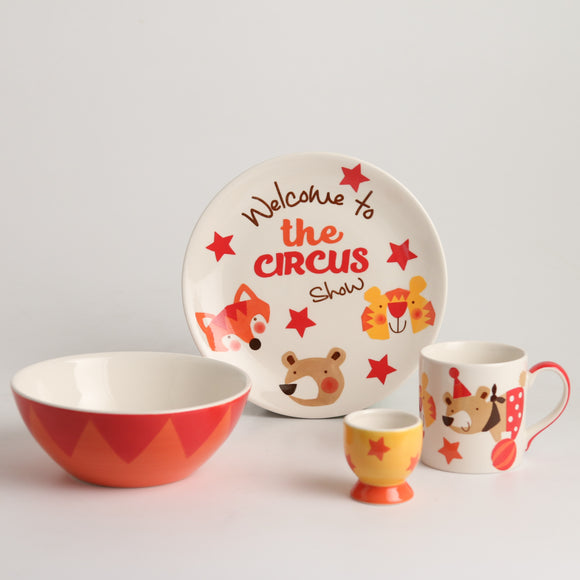 Royalclub 4 Piece Superb Kid's Breakfast Set