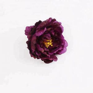 Royalclub Peony Rose Flower Napkin Ring set of 4