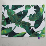 "Royalclub ""Banana Leaf"" dual sided Placemat"
