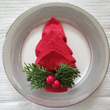 Royalclub Christmas Deco Napkin Ring set of 4