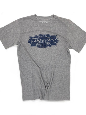 GameGuard Heather Gray Graphic Tee