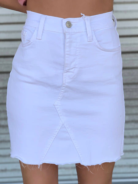 Chelsea Denim Skirt