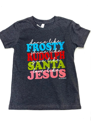 Dance Like Frosty Kids Graphic Tee