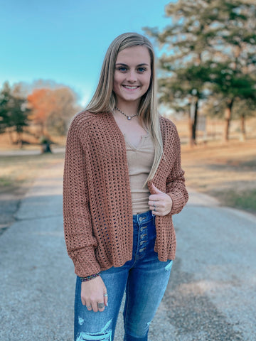 Fall Knit Cardigan
