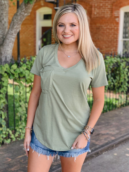 The Pocket Tee- All Colors