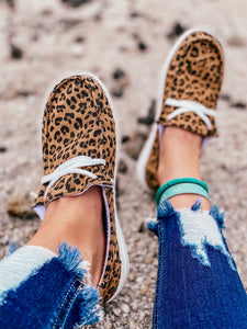 Hooray Leopard Slip On Sneakers