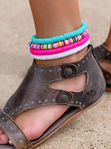 Color Pop Anklets- All Colors