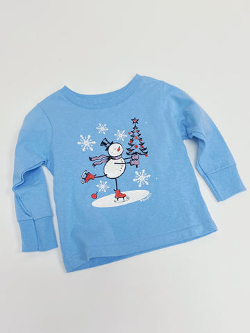 Frosty Snowman Kid's Graphic Tee