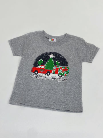 Christmas In The South Kids Graphic Tee