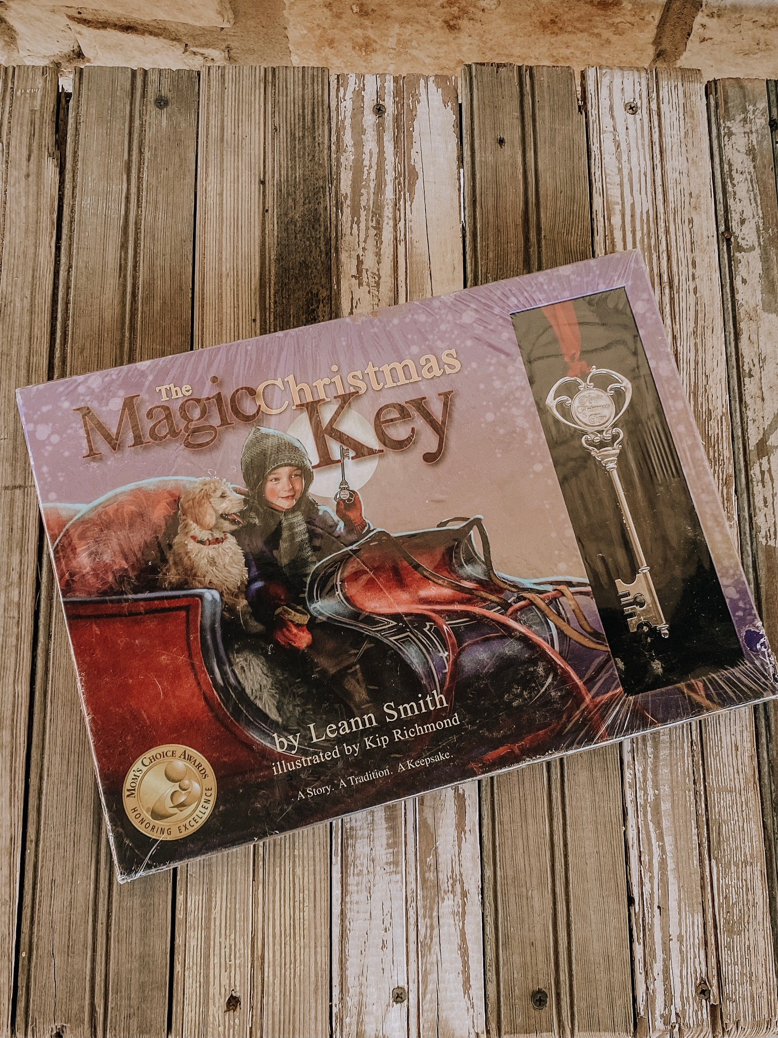 The Magic Christmas Key Book