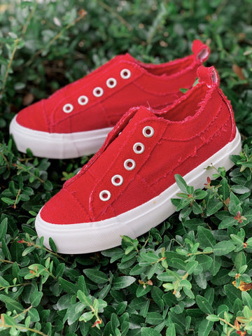 Kid's Babalu Sneakers - Red