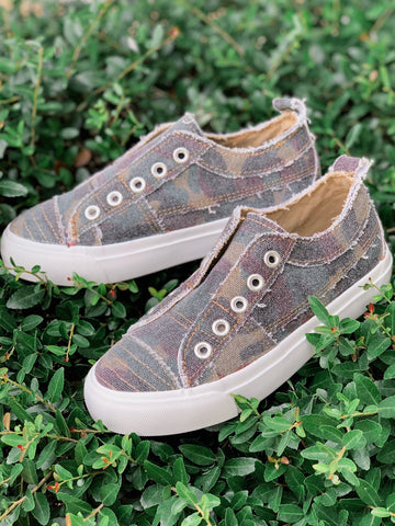 Kid's Babalu Sneakers - Camo