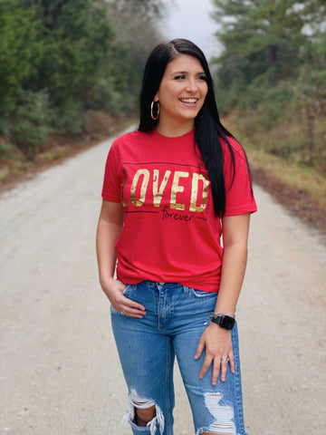 Loved Forever Graphic Tee