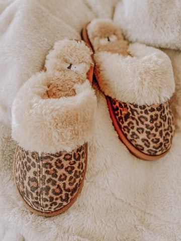 Snooze Leopard Slip Ons