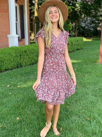 Sweet Magnolia Floral Dress