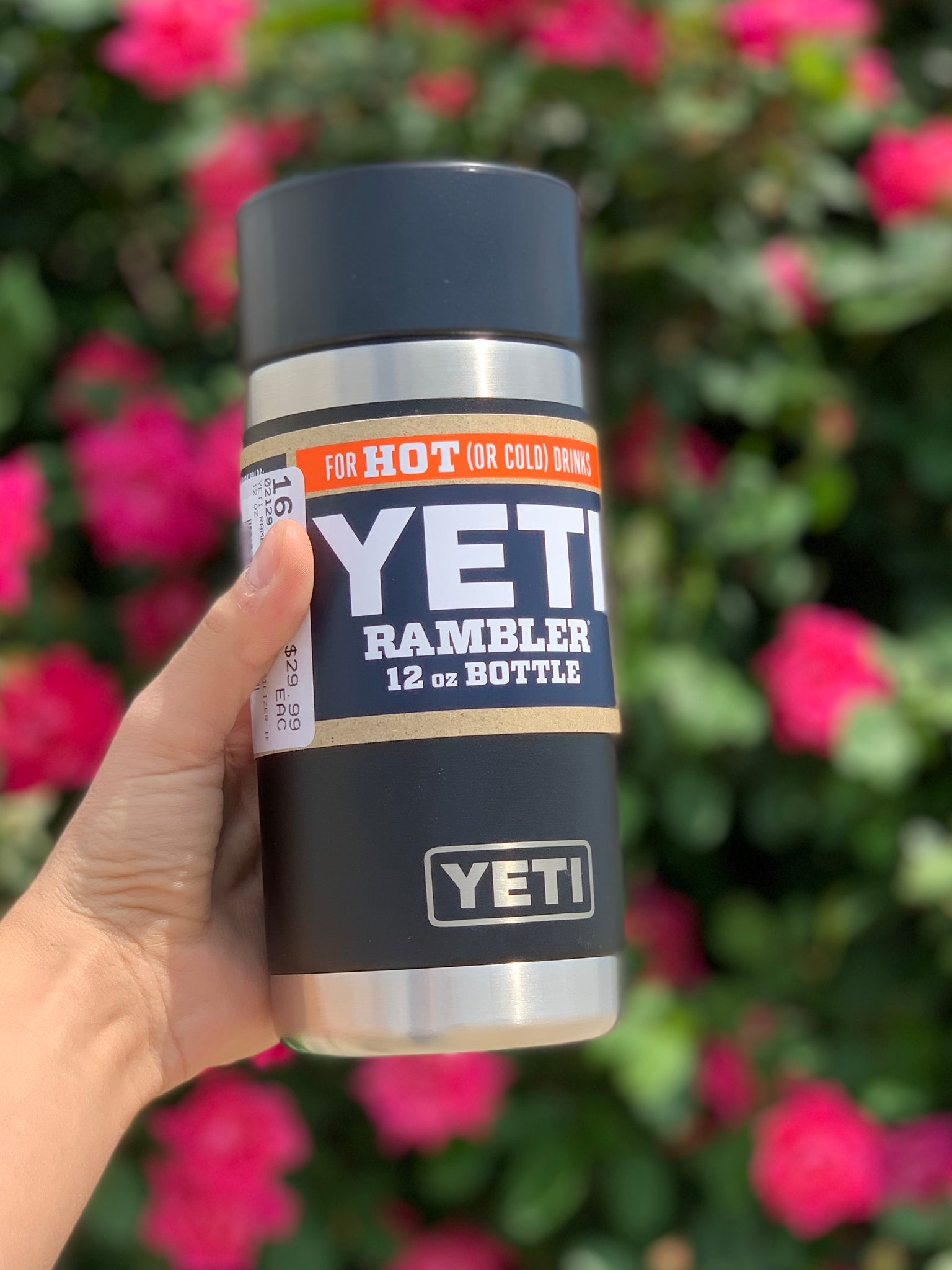 Yeti Rambler Bottle-12oz