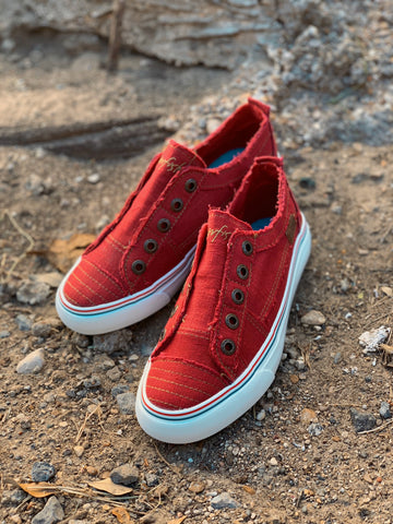 Red Blowfish Sneakers
