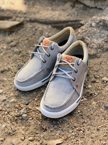 Women's Twisted X Hooey Loper- Light Grey