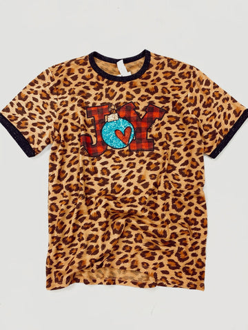 Kid's Joy Leopard Tee