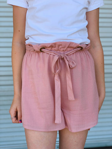 Pinky Promise Paperbag Shorts
