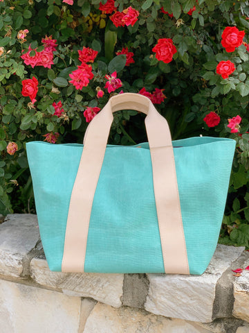 Agnes Green Large Carryall