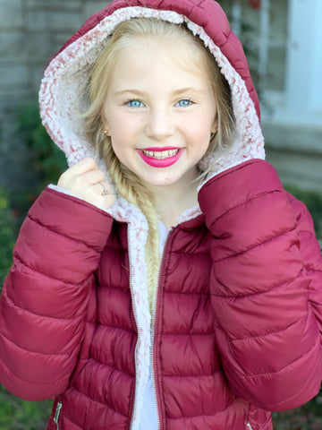 Kids Sleek Sherpa Jacket