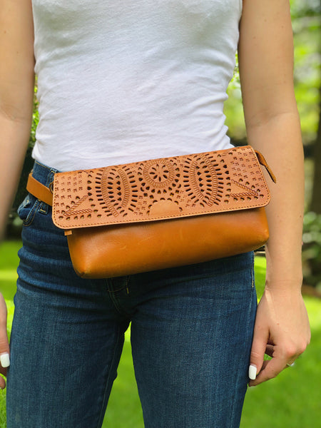 RPS Eternity Belt Bag - Cognac