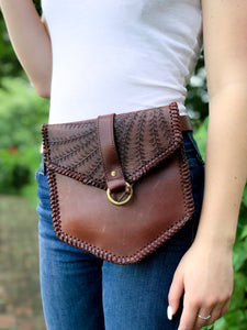 RPS Shield Belt Bag - Chocolate