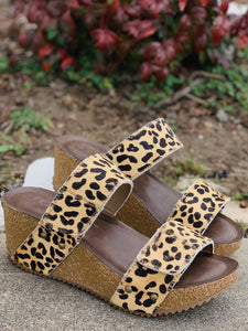 Wild Thing Leopard Wedges