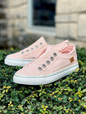 Kid's Blowfish Sneakers- Pink Lemonade