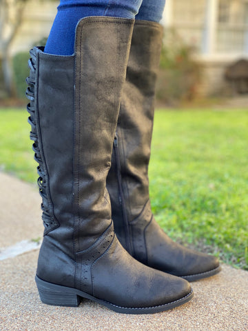 Crawford Boot- Black