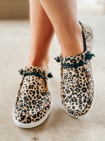 Kayak Slip-On-Leopard