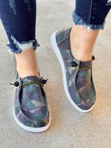 Kayak Slip-On- Camo