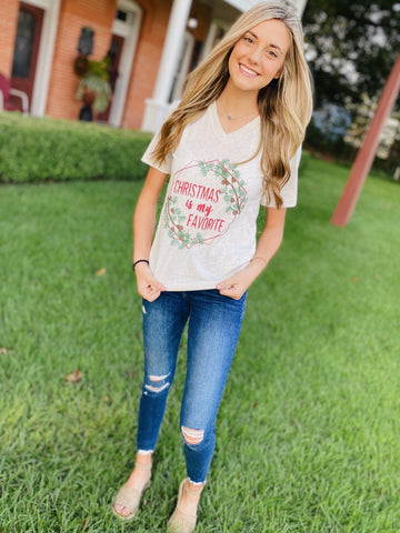 Christmas Is My Favorite Season Graphic Tee
