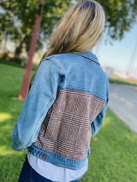 Falling For You Denim Jacket