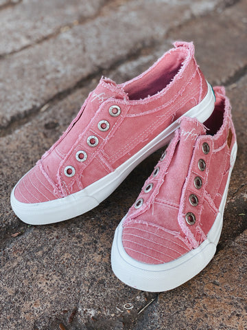 Dusty Pink Blowfish Sneakers