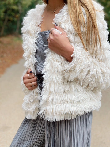 Vegas Baby Faux Fur Coat