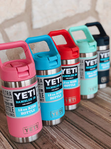 Kids Yeti Rambler Bottle- 12oz