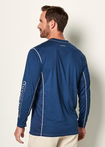 GameGuard Performance Tee Branded Long Sleeve - Deep Water