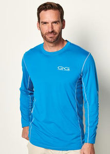GameGuard Performance Tee Branded Long Sleeve - Atlantic