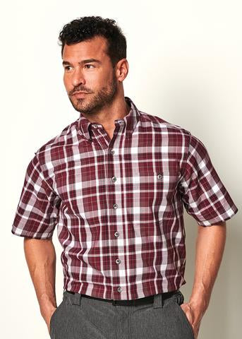 GameGuard Plaid - Maroon