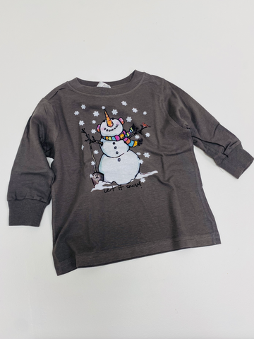 Let It Snow Kid's Graphic Tee